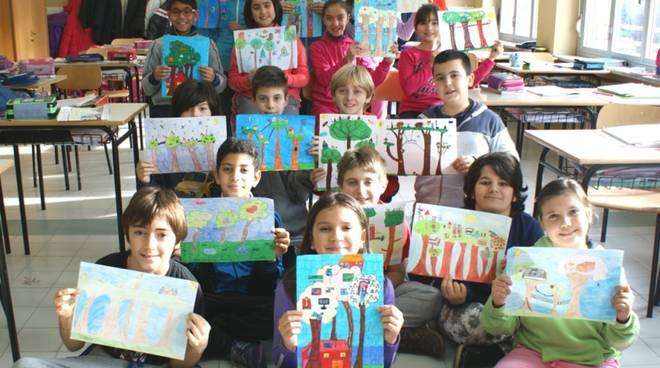 """""""Il bosco di tutti"""": a Baldichieri i bambini scoprono un luogo speciale per fare amicizia"""