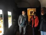 Il Soprintendente di Pompei Massimo Osanna in visita alla mostra sul cibo di Palazzo Mazzetti