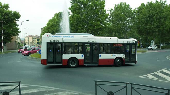 La Linea 2-2/ dei bus di Asti modificata per i lavori in strada Valgera
