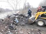 Rimossi lungo il Tanaro cinquanta metri cubi di rifiuti nel Sic tra San Marzanotto e la Boana