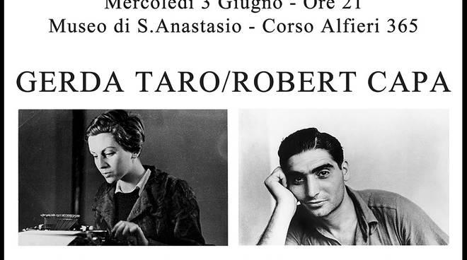 Aspettando Passepartout Mercoledì 3 Giugno ad Asti ''Gerda Taro/Robert Capa Una storia d'Amore, di fotografia e di Guerra''