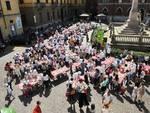 Asti, tanti bambini all'iniziativa Cuciniamo con Coco Optimo in piazza Roma