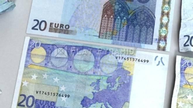 Banconote false: in Piemonte attenzione particolare ai 20 euro