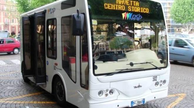 Asti, modificato il percorso della Navetta del Centro Storico