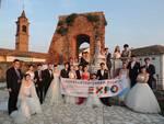 Dopo il matrimonio all'Expo venti coppie cinesi hanno festeggiato con Asti docg