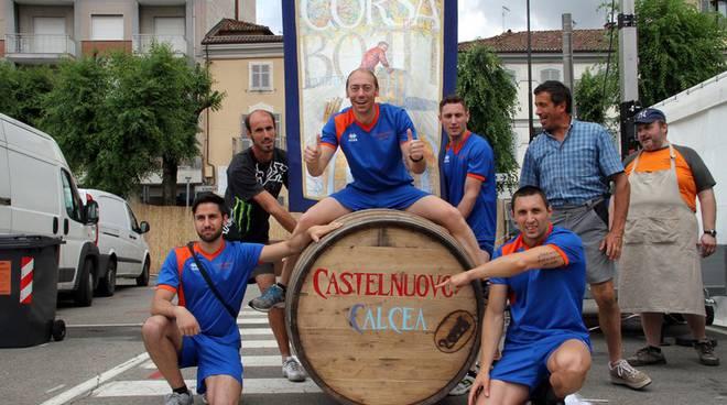 I Viticoltori di Castelnuovo Calcea vincono la Corsa delle Botti 2015 (foto)