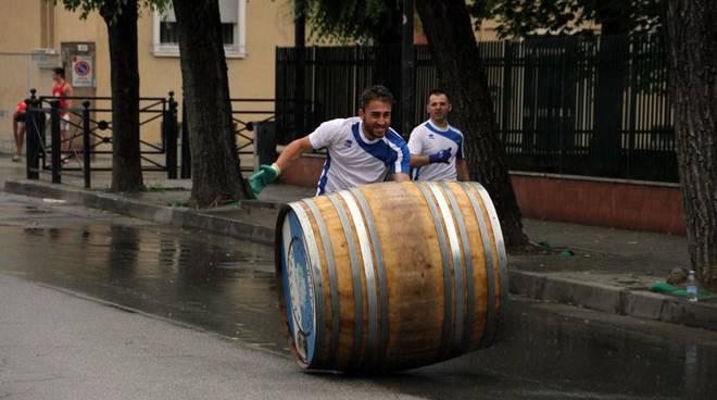 Qualifiche sotto la pioggia per la Corsa della Botti (foto)