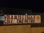 Striscioni ad Asti e in oltre cinquanta città italiane di CasaPound per ricordare Pietro Taricone