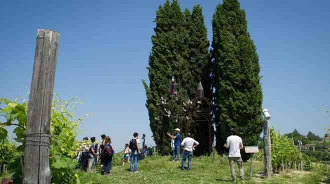 Un successo il Workshop tra i filari nel Parco Orme su La Court