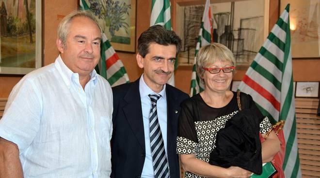 Annamaria Furlan (CISL) ad Asti, cantiere di sperimentazione della ''Zona Cisl''