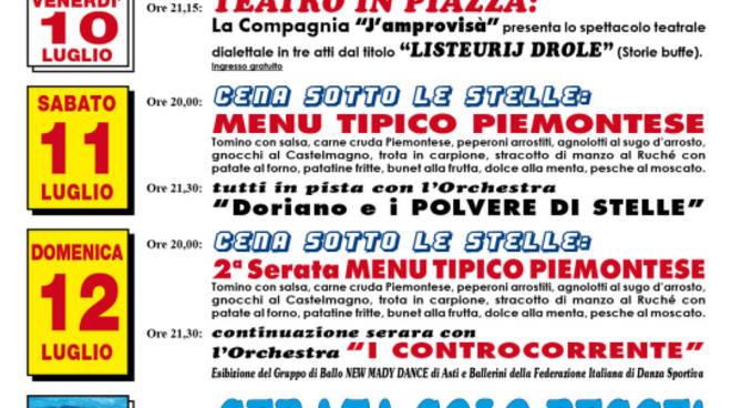 """Fervono i preparativi per l'Estate (in collina) Castiglionese 2015 con """"I disnè dla festa"""""""