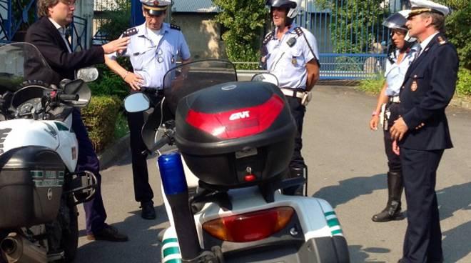 Il ringraziamento del Sindaco di Asti alla Polizia Municipale dopo l'arresto ai giardini pubblici