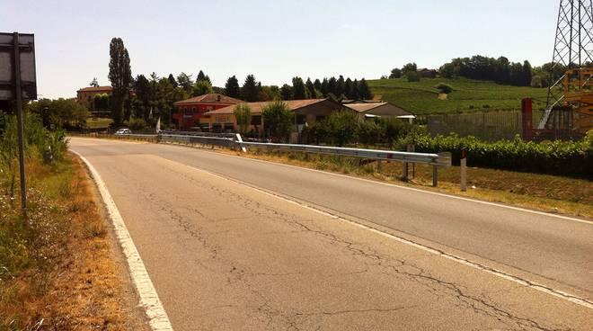 Nizza Monferrato, effettuati lavori sulla strada provinciale 456