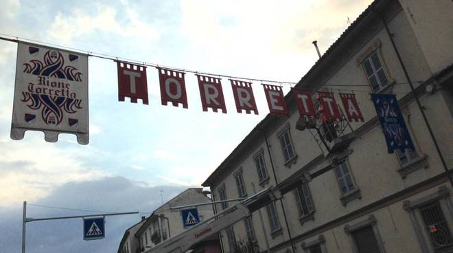 Il Borgo Torretta si prepara all'intenso fine settimana del Palio