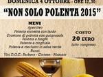 Il primo week end di ottobre a Castiglione d'Asti ''Non solo Polenta''