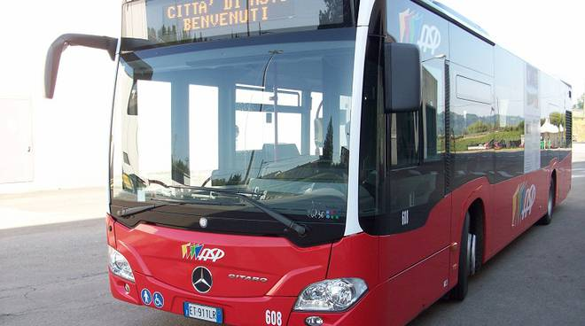 Le variazioni delle linee degli autobus ad Asti in occasione delle feste cittadine