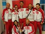 Gare nazionali primo soccorso Cri, secondo posto per il team di Villanova d'Asti