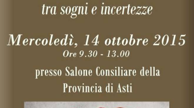 Giovani e futuro, tra sogni e incertezze: se ne parla ad Asti il 14 ottobre