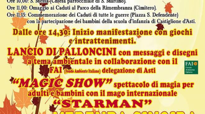 San Martino 2015 a Castiglione d'Asti: domenica 8 novembre ce n'è per tutti i gusti!
