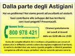 Asti, nasce il gruppo ''Dalla parte degli Astigiani''; domani il gazebo sotto i portici Anfossi