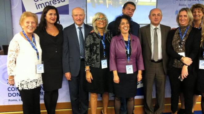 Donne Impresa Asti alla 20a Convention Donne Impresa di Confartigianato Roma