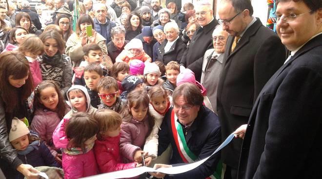 Inaugurata ad Asti una rinnovata Scuola dell'Infanzia di Borgo Tanaro