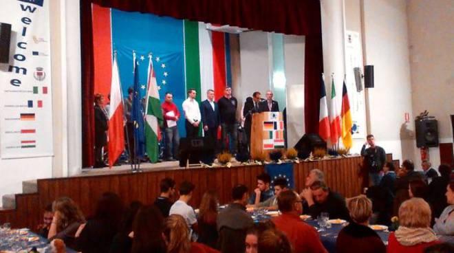 "Grande emozione a Castagnole Lanze per ""Awareness Citizenship Twinning in Europe"""