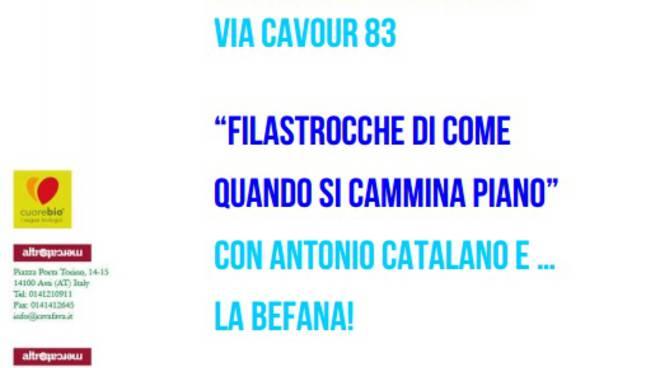 La Befana ad Asti arriva il 5 gennaio...alla Bottega Altromercato!
