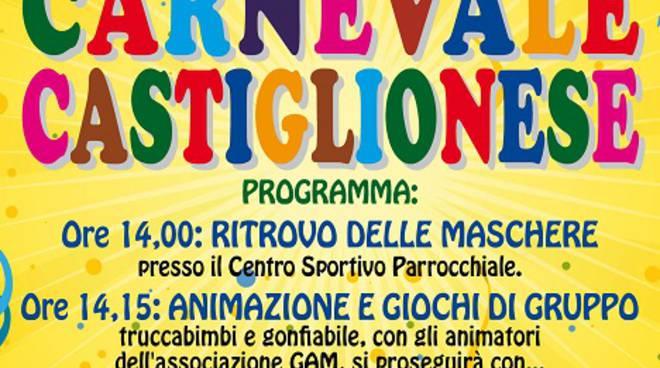 Martedì 9 febbraio è festa grande con il Carnevale Castiglionese