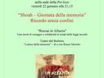 Venerdì a Castiglione d'Asti una serata dedicata al Ricordo dello Shoah