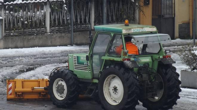 Anche in centro di Asti attivi gli spartineve del Comune