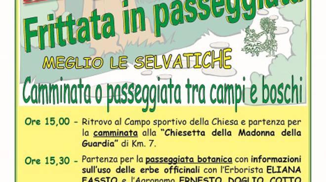 Domenica 3 aprile a Castiglione d'Asti si fa la ''Frittata in passeggiata''