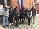 Visita a sorpresa del sindaco senegalese Yoro Sow al Cpia di Asti