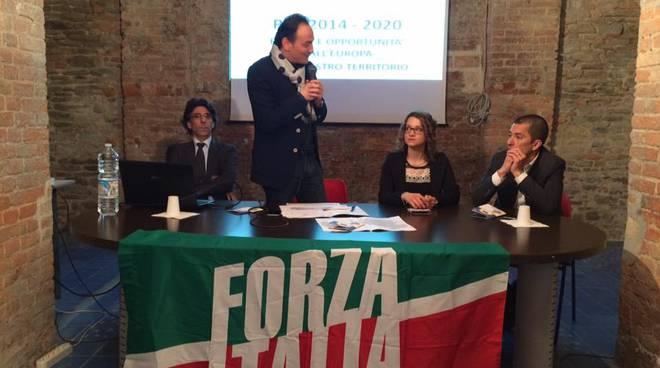 Canelli, l'Eurodeputato Alberto Cirio ha presentato il nuovo programma di sviluppo rurale