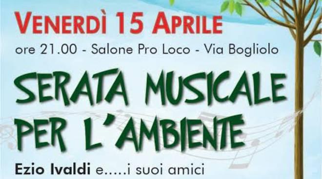 """Mombercelli, venerdì alla Proloco la """"serata musicale  per l'ambiente"""""""