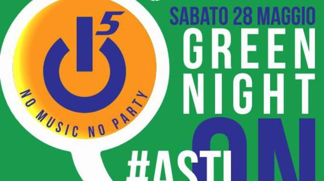 Asti, stasera è festa continua con la Green Night