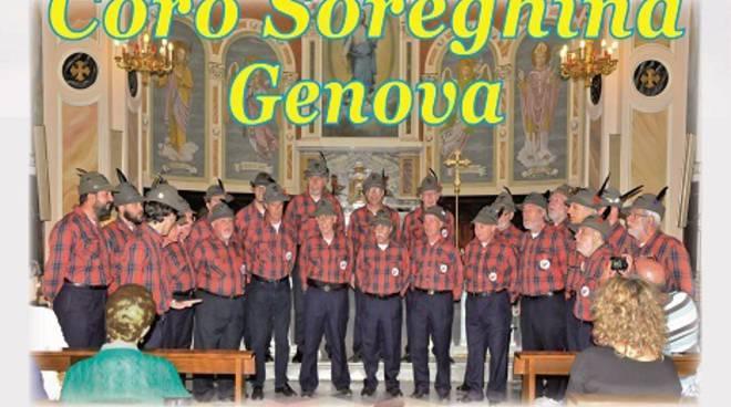 Domani sera a Castiglione d'Asti il concerto alpino del Coro ANA Soreghina Genova