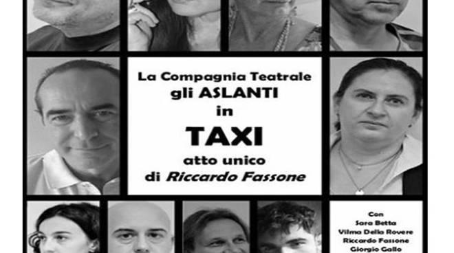 """Taxi in scena con la compagnia degli """"Aslanti"""" a Vaglio Serra"""