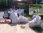 Abbandono rifiuti: l'incività continua