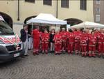 Asti, inaugurati tre nuovi mezzi della Croce Rossa