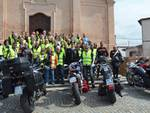 Carabinieri-motociclisti di Alba in pellegrinaggio al Santuario Virgo Fidelis di Incisa Scapaccino
