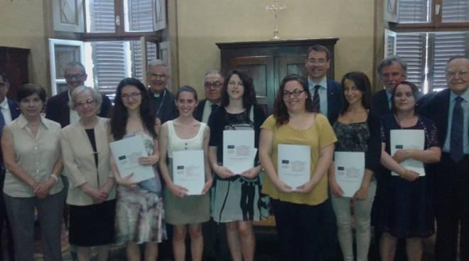 Consegnate le borse di studio 2016 del Progetto Culturale Diocesano e Astiss