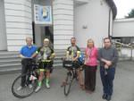 Da Montegrosso a Roma in bicicletta per il Giubileo della Misericordia