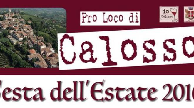 Da venerdì 24 giugno tre giorni di grande festa a Calosso