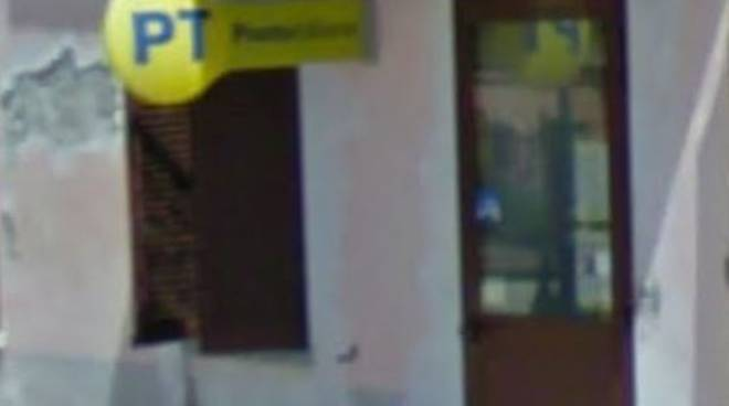 Furto di cassaforte all'ufficio postale di Camerano Casasco