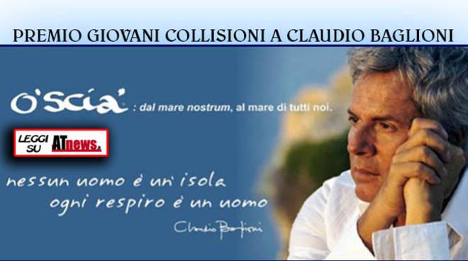 Claudio Baglioni domani a Collisioni per ritirare il Premio Giovani