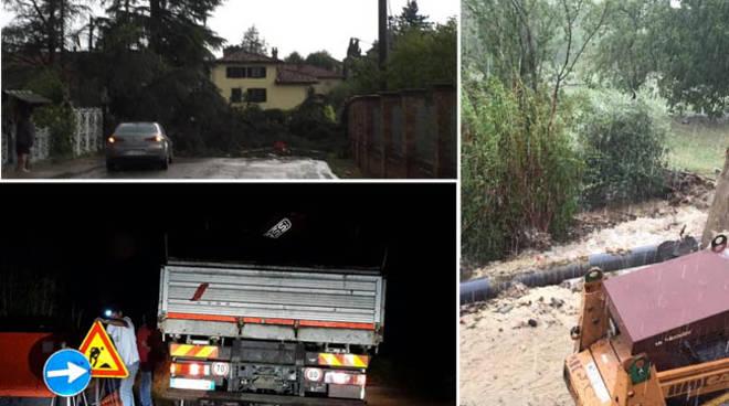 Il violento nubifragio di ieri ha fatto seri danni in tutto il Monferrato