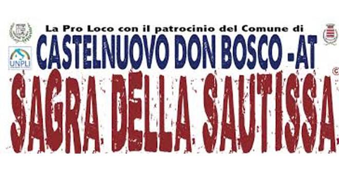 Oggi a Castelnuovo Don Bosco comincia la sesta edizione della Sagra Della Sautissa, fino al 3 luglio.