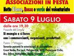 """Sabato sera a Mombercelli """"Associazioni in Festa: Notte Bianca, Rossa e Verde del Volontariato"""""""