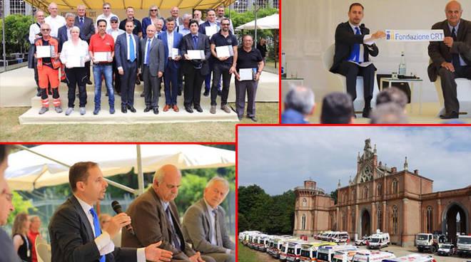 """Sanità: Premiate 29 associazioni del 118 vincitrici delle ambulanze """"targate"""" Fondazione CRT"""